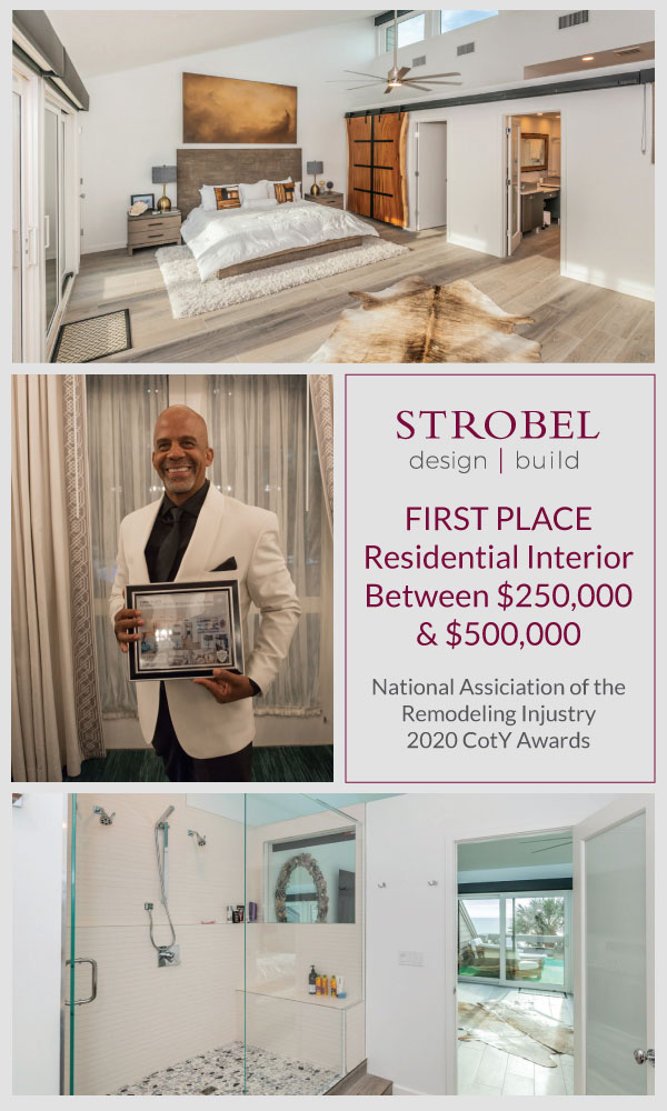 Strobel Design Build wins forst place for residential exterior between $250,000 and $500,000