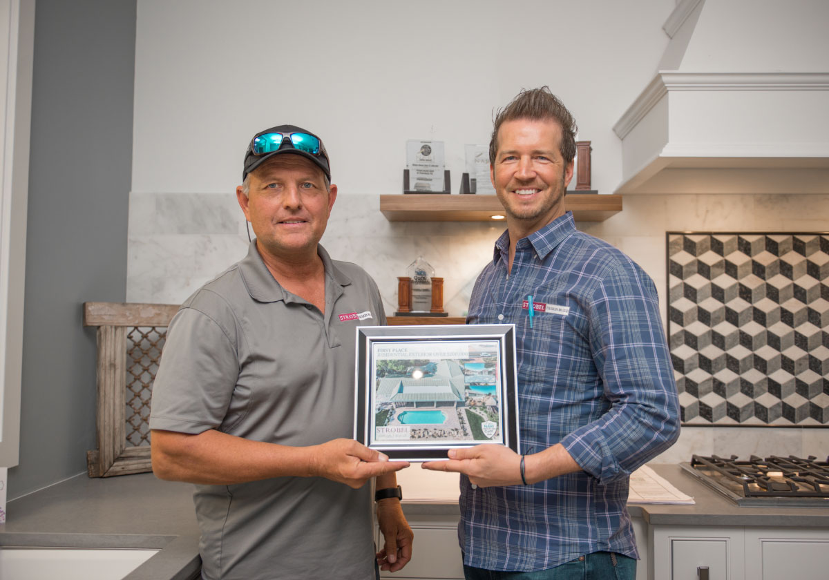 residential exterior remodel NARI award first place