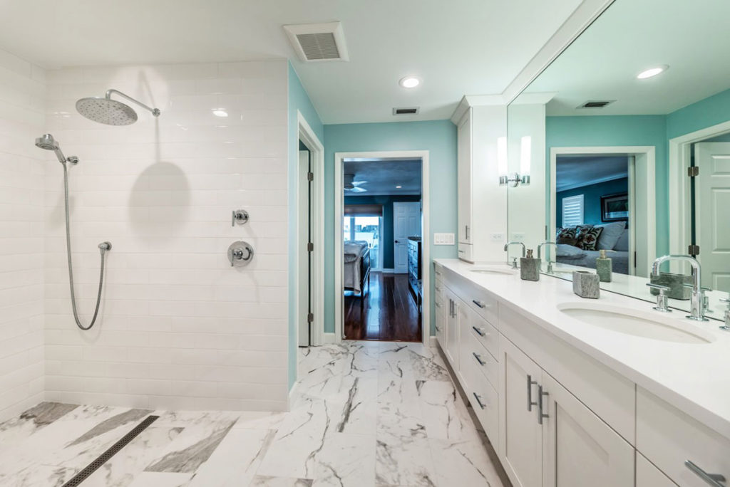 Luxury Bathroom Remodel St. Petersburg Florida