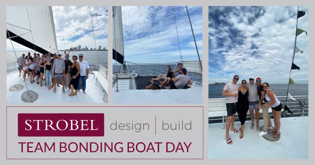 Strobel Team Bonding Boat Day